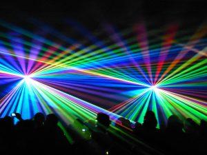 Lasershow - Raumshow